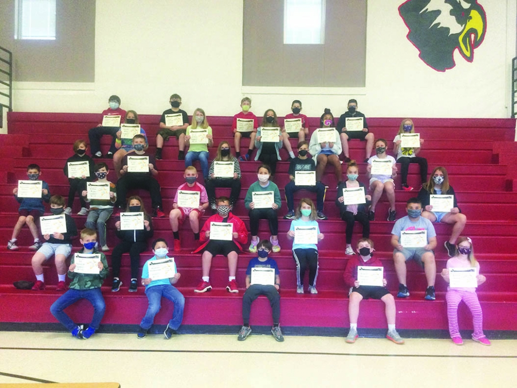 """The May Above the Line theme was """"Citizenship."""" On Thursday, May 13, the students listed below received awards from their classroom..."""