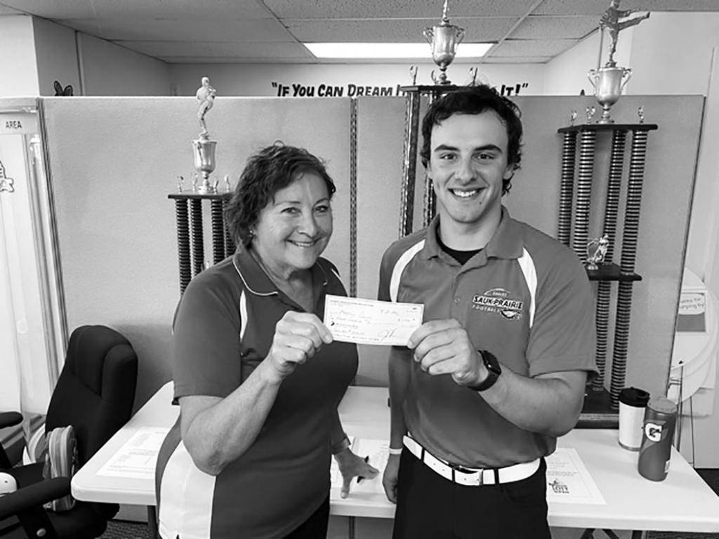 Devon Frey of Prairie Du Sac received a $1,000.00 scholarship from Karate America Lodi for the 2021-22 school year. Devon is enrolled at Madison...