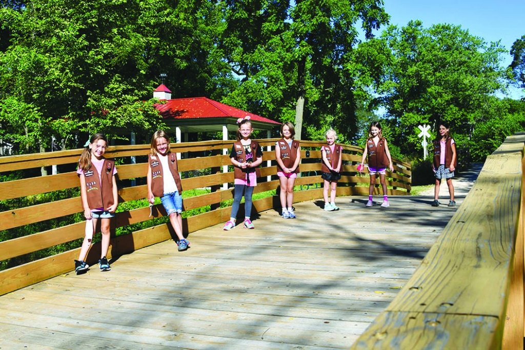 On August 29th, seven Wisconsin Heights Daisy's from Troop 7133 marked an important milestone in their Girl Scout involvement at the Wolf Run...