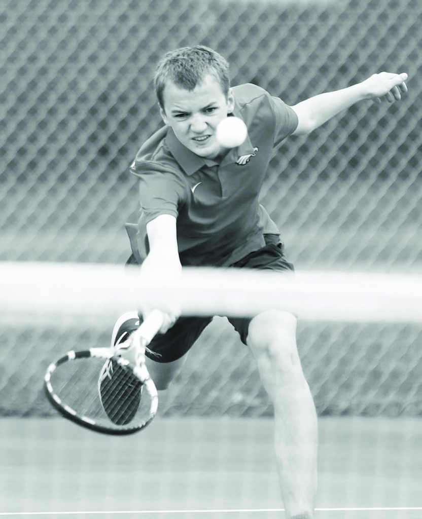 Sauk Prairie's boys tennis team finished third at the Badger North Conference meet on June 4 and tied with Portage for third place overall in...